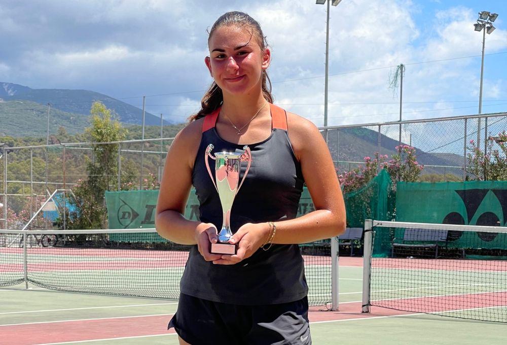 , Τένις: Επιστροφή στην δράση για την Παπακωνσταντίνου με 2η θέση στην Κεφαλλονιά