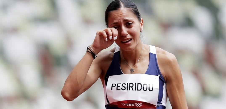 , Ολυμπιακοί Αγώνες 2020: Τραυματίστηκε στην εκκίνηση η Πεσιρίδου