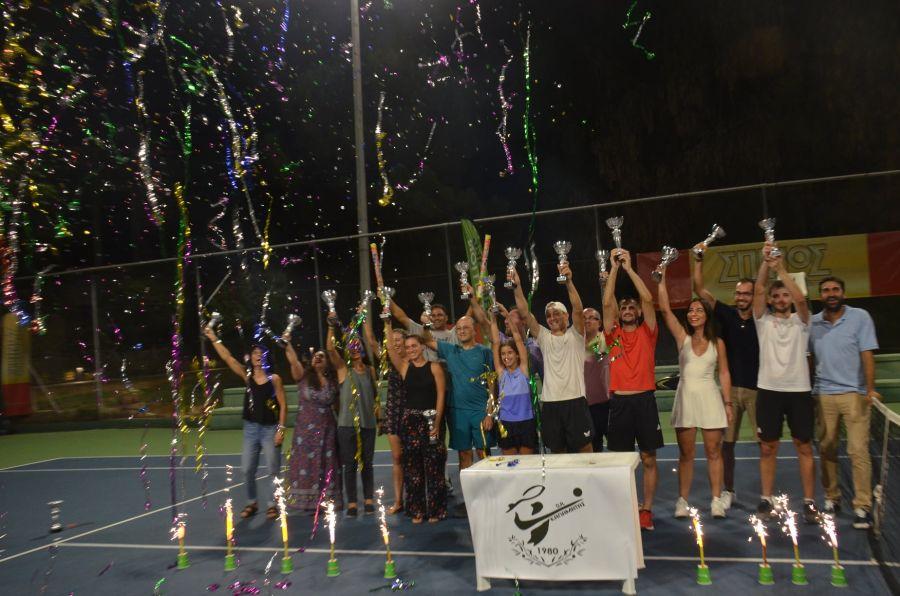 , Τένις: Οι νικητές στο Spinos Open του ΟΑ Καλαμάτας