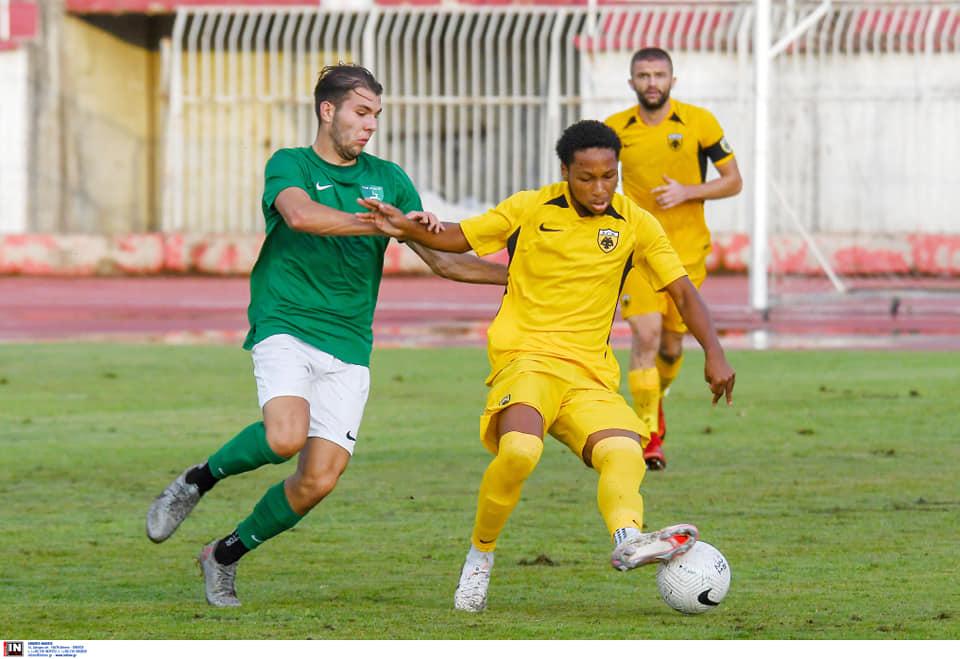 , Η Ρόδος 1-0 την ΑΕΚ Β σε φιλικό στο Βόλο