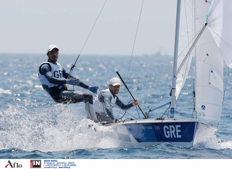 , Ολυμπιακοί Αγώνες 2020: Στην 8η θέση Μάντης – Καγιαλής στα 470 της ιστιοπλοΐας