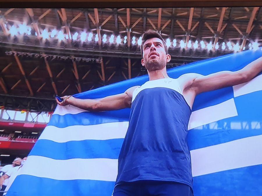 , Ολυμπιακοί Αγώνες 2020: Χρυσός Ολυμπιονίκης ο Μίλτος Τεντόγλου! (φωτο)