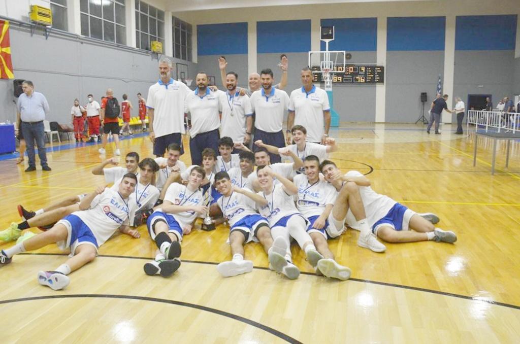 , 1ο Κύπελλο Μεσσήνης: Πρώτη και καλύτερη η Εθνική Κ15, νίκησε (89-76) στον τελικό την Πολωνία (φωτο)