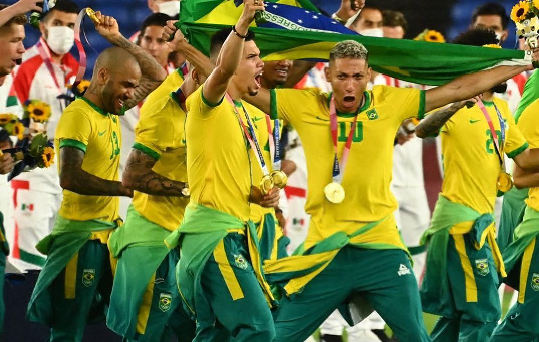 , Ολυμπιακοί Αγώνες: Χρυσή Βραζιλία ξανά στο ποδόσφαιρο, νίκησε στην παράταση την Ισπανία (video)