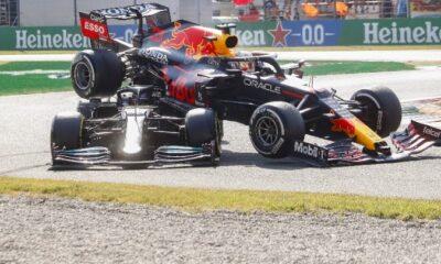 , Παρ'ολίγο τραγωδία στη Monza: Η Red Bull του Φερστάπεν «πλάκωσε» το μονοθέσιο του Χάμιλτον (video)