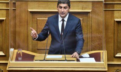 , Τι είπε στη Βουλή ο Αυγενάκης για τις αδειοδοτήσεις της Super league 2