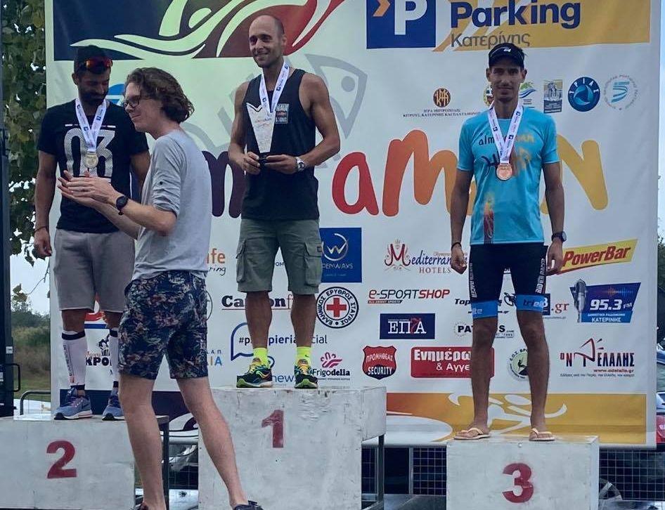 , Ευκλής Καλαμάτας: 3ος ο τριαθλητής Ρούτσης στο almiraMAN στην Κατερίνη