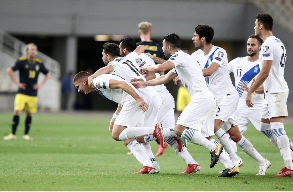 , Ελλάδα – Σουηδία 2-1: Ξανά στο κόλπο (βίντεο)