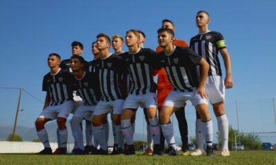 , Καλαμάτα Κ19: Φιλικό 2-0 επί του Πάμισου Μεσσήνης