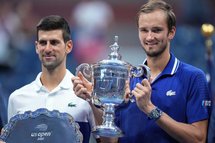 , US Open: Θρίαμβος για τον Μεντβέντεφ, 3-0 τον Τζόκοβιτς στον τελικό (video)