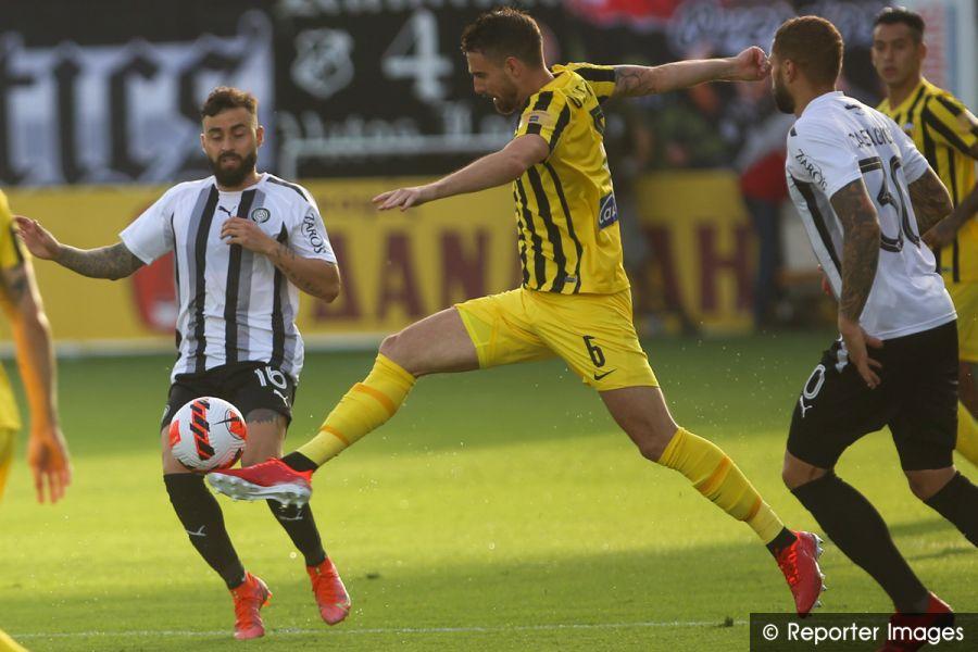 ", Super League: ""Αγγλικό"" δράμα στο Ηράκλειο – Η ΑΕΚ προηγήθηκε με 3-0 και ο ΟΦΗ ισοφάρισε σε 3-3 (video)"