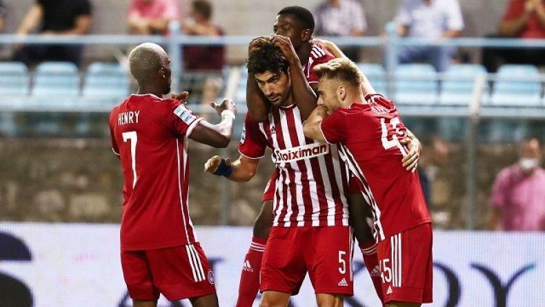 , Λαμία- Ολυμπιακός 1-2: Αγχωτική νίκη (video)