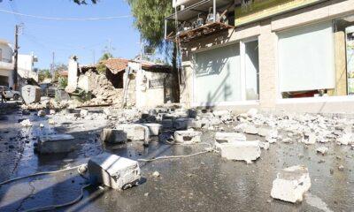 , Σεισμός 5,8 Ρίχτερ στην Κρήτη: Ένας νεκρός στο Αρκαλοχώρι