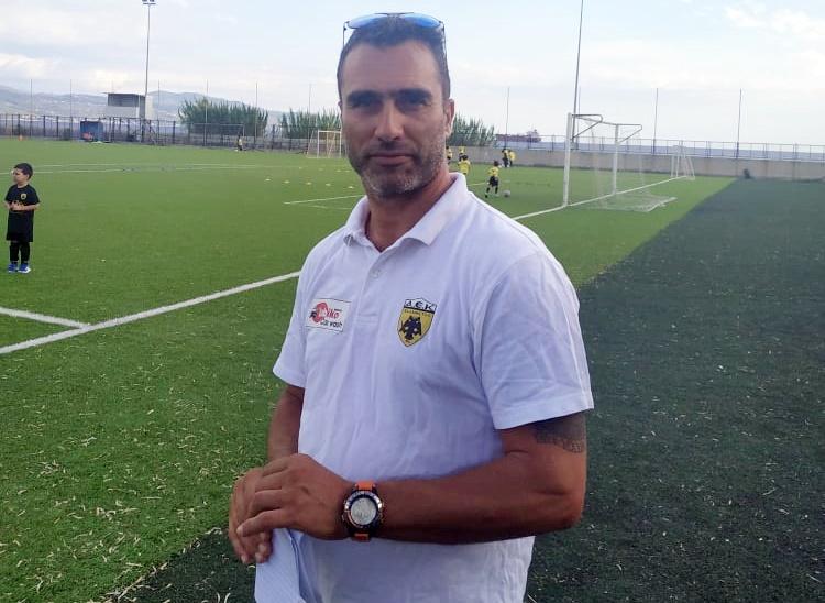 , Ο Χρήστος Σπάλας σε διπλό ρόλο στην ΑΕΚ Καλαμάτας
