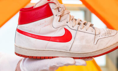 , Μάικλ Τζόρνταν: «Χρυσά» πουλήθηκαν αθλητικά παπούτσια του θρυλικού μπασκετμπολίστα