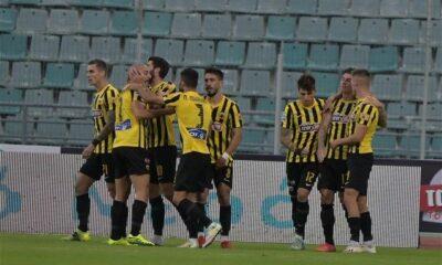 ", Super League: ""Τρένο"" με Γιαννίκη η ΑΕΚ, πέρασε με 3-1 από το Βόλο (video)"