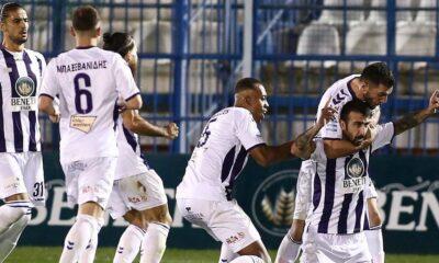 , Super League: Έσπασε το ρόδι ο Απόλλων Σμύρνης, διπλό Ιωνικού στο Περιστέρι