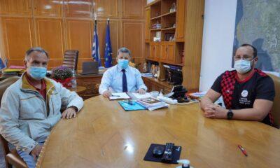 , Άργης Καλαμάτας: Συνάντηση με Αναστασόπουλο