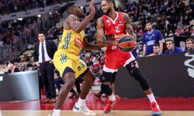 , Ευρωλίγκα: Αγχωτική νίκη Ολυμπιακού, με προβλήματα κόντρα στην Εφες ο Παναθηναϊκός
