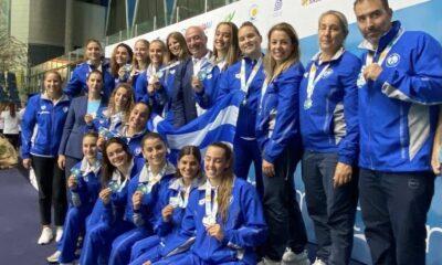 , Ελλάδα – Ισπανία 5-10: Ασημένιο μετάλλιο η Εθνική στο Παγκόσμιο Πρωτάθλημα του πόλο νέων γυναικών
