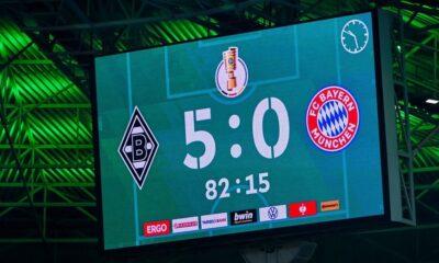 , Γερμανία: Απίστευτη Γκλάντμπαχ, διέσυρε με 5-0 την Μπάγερν (βίντεο)
