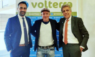 , Volterra: 3η συνεχόμενη χρονιά επίσημος μεγάλος χορηγός της Μαύρης Θύελλας